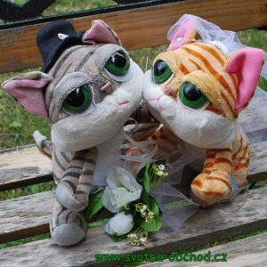 Kočičky 01 svatební výzdoba