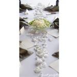 ispirace k použití okvětních plátkům růží, látkové okvětní plátky růží, barva podle barvy svatby, Okvětní lístky růží, dekorace, levně, levné,