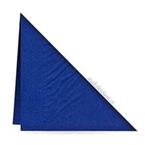 Ubrousky 24 tmavě modré 20 kusů