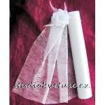 Vlizelín bílý 001 šíře 50cm,Vlizelín bílý 001 šíře 50cm
