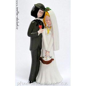 Úžasná svatební figurka 09