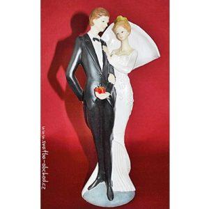Štíhlá svatební figurka 80