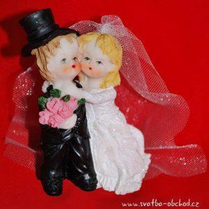 Nevěsta + ženich – figurka 58
