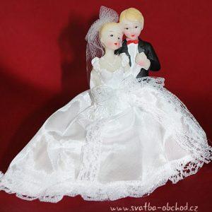 Figurka svatební 71 jemná