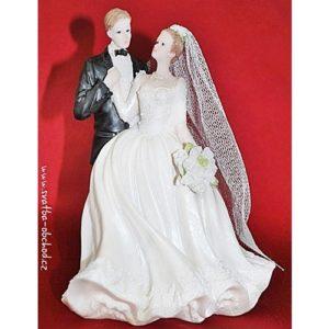 Nádherná svatební figurka 85