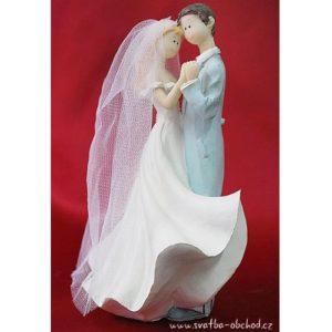 Elegantní svatební figurka 08