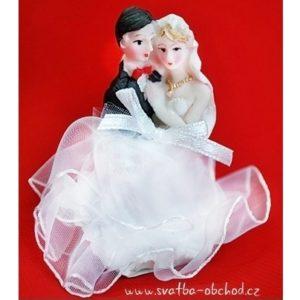 Figurka na svatební dortík 75