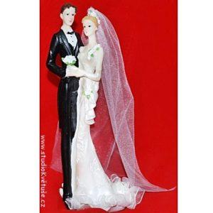 Svatební štíhlá figurka 61
