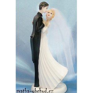 Svatební štíhlá figurka 82