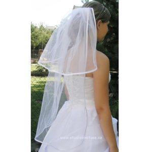 Závoj svatební 80cm