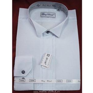 Košile frakovka 01 bílá