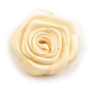 Růžička skládaná 02 šampáň