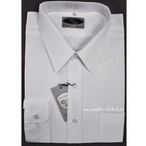 Košile bílá 02 klasický límeček
