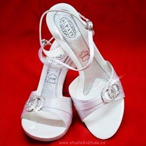 Sandálky svatební 902