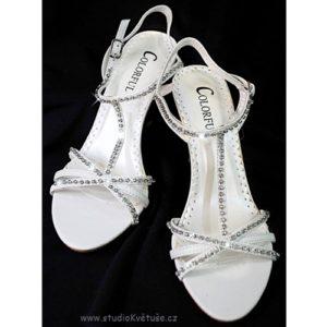 Svatební sandálky 03