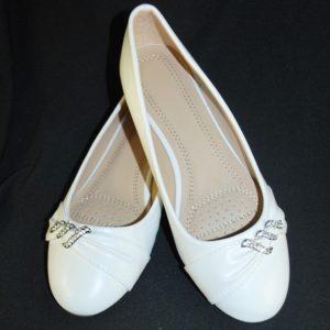 Balerínky svatební 16 bílé