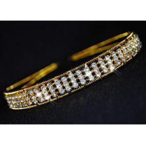 Čelenka zlatý kov 12