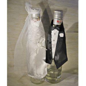 Svatební oblečení na lahve 03