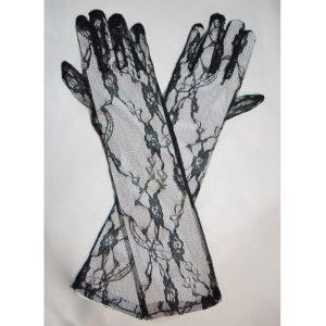 Rukavičky 04 černé prstové