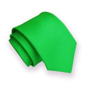 Kravata 199 zelená matná