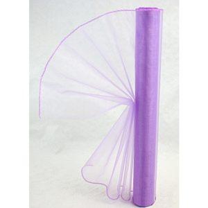 Organza fialová 007 délka 92cm
