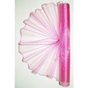Organza růžovo fialová 020