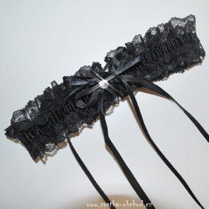 Podvazek 48 černý