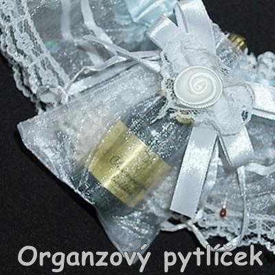 pytlíček organzový