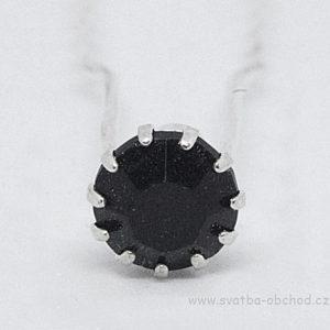 Vlásenka 065 černý kámen