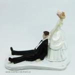 ženich,nevěsta,svatba,svatba,nevěsta,Nevěsta táhne ženicha,svatební,Žertovná svatební figurka 99,Žertovná svatební figurka 99,svatební dort,svatba,ozdoba,nevěsta,ženich,hostina,svatební výzdoba,krájecí set,dort,figurka novomanželé,levně,svatební tvoření