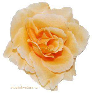 Květ růže 15 béžový