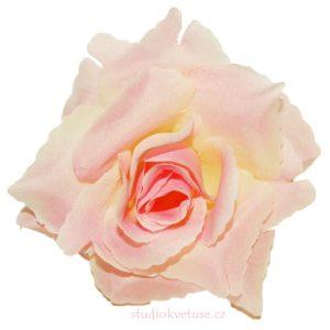 Květ růže 21 růžový