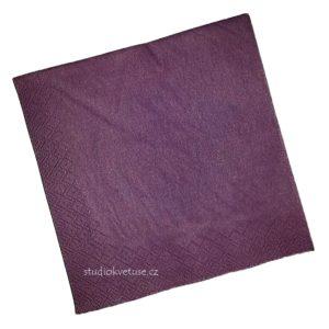 Ubrousky 44 tmavě fialové