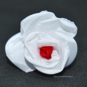 Kytičky bílo červené 19
