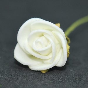 Růžička bílá 40 pěnová