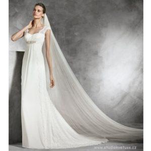 Svatební dlouhý závoj 350cm