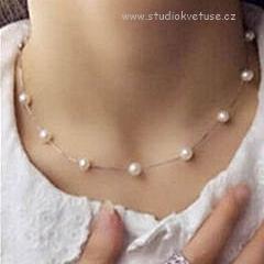 ,bižuterie,náušnice,náhrdelník,svatební náhrdelník,svatba,perličky,bižuterie,společenská móda,levně,perly,levné,svatební,nevěsta,svatba,svatba