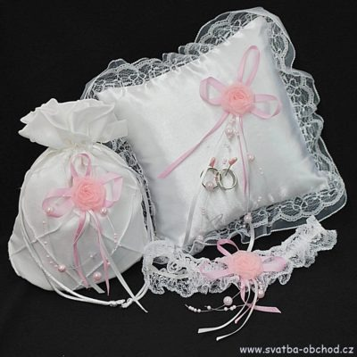 Svatební set 04 růžovo a