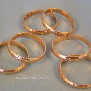 Prstýnky zlaté 01
