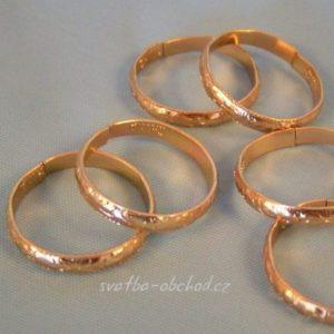 Prstýnky zlaté 01 a