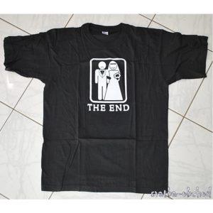 Tričko černé 03 The end