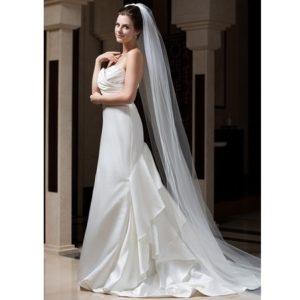 Dlouhý svatební závoj 200cm