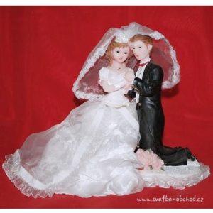 Krásná svatební figurka 27