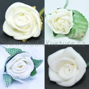 Růžička bílá