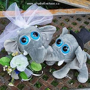 Sloníci pro štěstí 01 střední