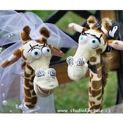 Svatební žirafy 01