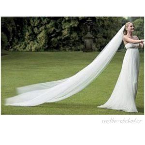 Svatební závoj 400cm a