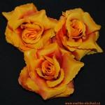 Květ růže 06 oranžový