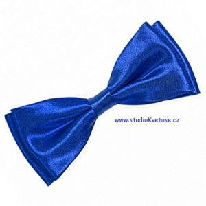 9f42c1da81 Motýl pánský 04 – modrý – lesklý – satén