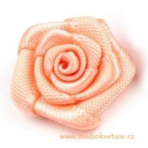 Růžička skládaná 03 lososová a